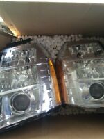 09 escalade hid head lights