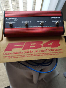 Line 6 FB-4 footswitch for sale