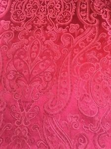Large Red Rectangular Tablecloth