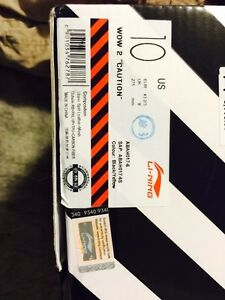 "Li Ning way of wade 2 ""caution"" size 10 Kitchener / Waterloo Kitchener Area image 6"