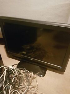 "25"" Flat screen TV and PS3"