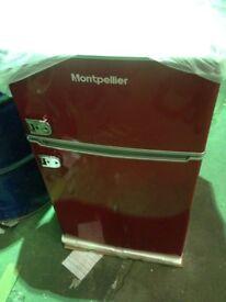NEW! Montpelliter MAB2030R retro fridge freezer - Dent on side
