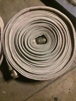 """50"""" fire hose with brass ends"""