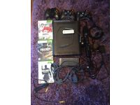 Xbox 360 Elite with 3 Games, Kinect, wireless
