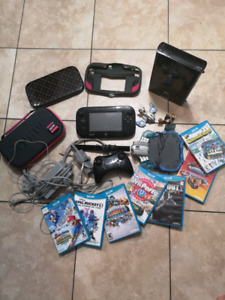 Mint Condition Wii U full system includes tons of extras