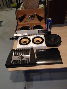 SPL65 Top Of The Line Car Audio Stereo Equipment. Reduced !!!!!