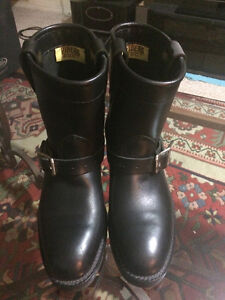 Used Once...Viberg Biker Boots MUST SELL