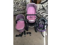 iCandy Peach 3 Marshmallow pushchair travel system