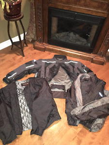 2XL Olympia motorcycle riding suit for sell