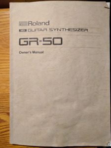 Roland GR-50 Guitar Synth