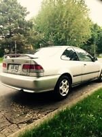 Honda civic 2000 SI coupe 148000km