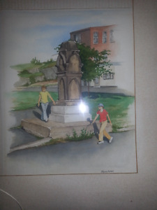 Original water color by artist Mary Kent
