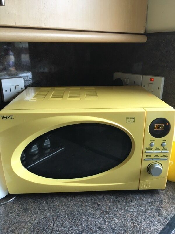 Next Yellow Microwave And Matching Toaster 163 50 In Dundee