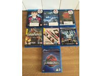 6 BLURAY DVD FILMS IN GOOD CONDITION