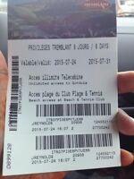 Tickets to Mont-Tremblant