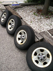 Set of Toyo Winter Tires