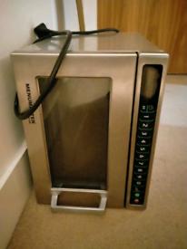 Menumaster commercial microwave 1800watt Dec18e2u model