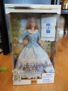 Collectible Barbie Limited edition Peter Rabbit Brand new