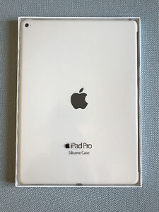 """Official Apple Silicone Case for 12.9"""" iPad Pro (white)"""