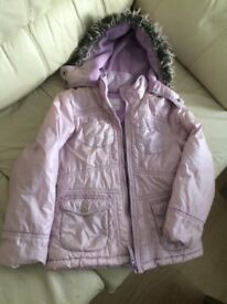 Girls coat 7-8 years next