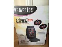 HOMEDICS SHIATSU MASSAGER WITH HEAT Massaging Seat