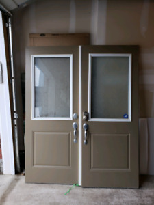 32 x 80 (inches) main entrance doors