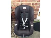 Black britax car seat for age 9 months to 3/4 year old