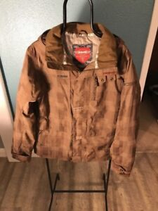 Brown Sims Snowboarding Jacket Excellent Condition XL