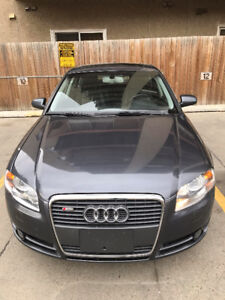 2008 Audi A4 2.0T Quottro Sport Edition Sedan