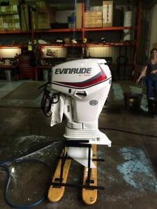 Evinrude 60DSLAG 60HP Pied Long 2016