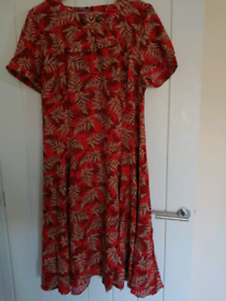 Joe Browns vintage collar Red dress