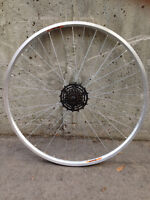 "27"" aluminum alloy double-wall Damco rear wheel like new!"