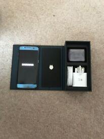Samsung galaxy s7 edge coral blue