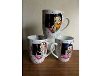 Betty Boop Official Alphabet Mug. Collectible. F, H & N