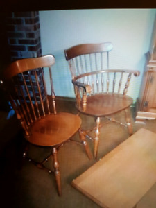 Roxton table and 6 chairs