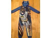 Boys Batman Onesie age 7-8