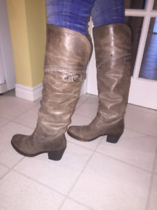 6.5 Frye Leather Boots