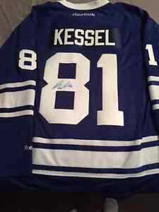 Authentic Signed Phil Kessel Jersey