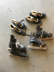 Skates and cross country shoes/boots