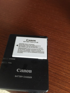 Canon Battery  Charger with Battery