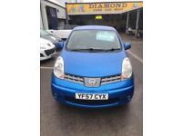 Nissan Note 1.4 57 plate Acenta