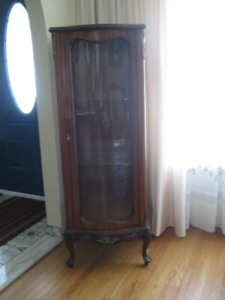Antique French Style Curio Cabinet