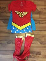 Wonder Woman Halloween Costume Tshirt & boots