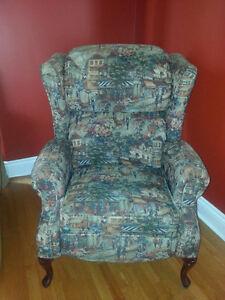 Impeccable confortable fauteuil