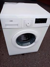 8kg 1400 spin Logik washing machine