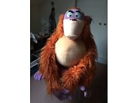 Life Size Jungle Book King Louie Soft Toy