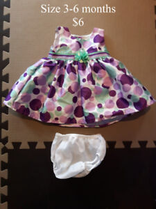 Size 3-6 Month Dresses