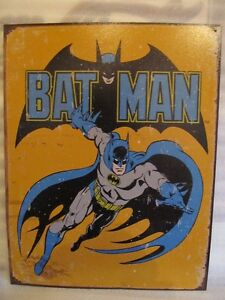 Batman metal tin sign