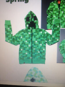 minecraft creeper jackets