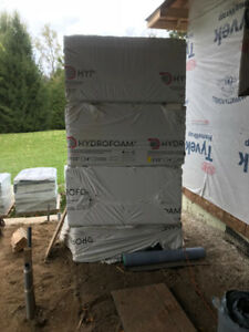 "Radiant Floor Heating Insulation, Hydrofoam 2-1/2"" with radiant"